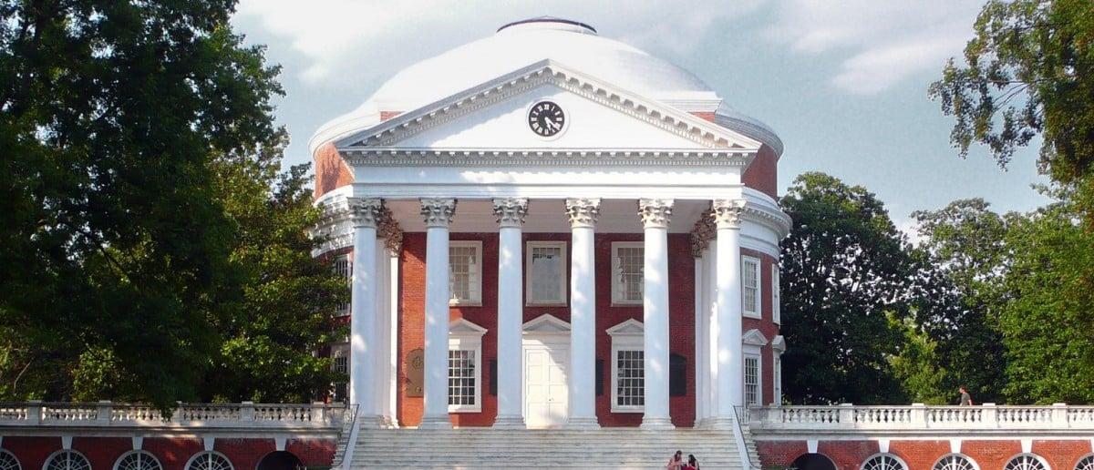 UVA Rotunda building [Creative Commons/Patrickneil]