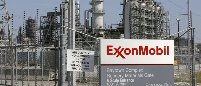 File photo of the Exxon Mobil refinery in Baytown