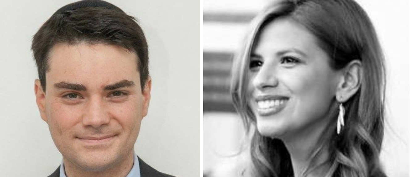 Ben Shapiro, Michelle Fields, Images via Twitter Screen Shot