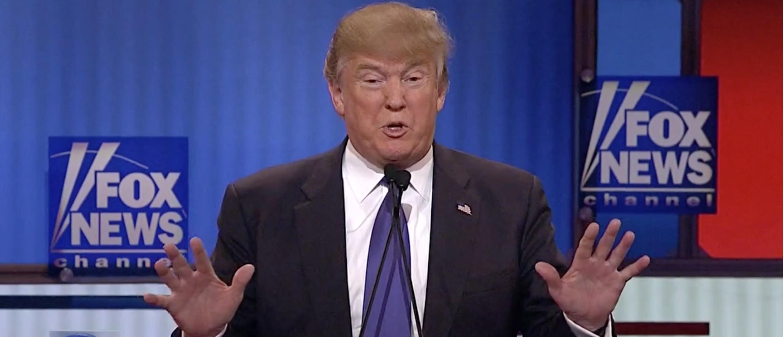 Donald Trump, Screen Shot Fox News 3-3-2016
