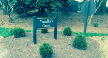 Welcome to Yardley's Grant where the Hinckley home resides. (photo: Richard Pollock)
