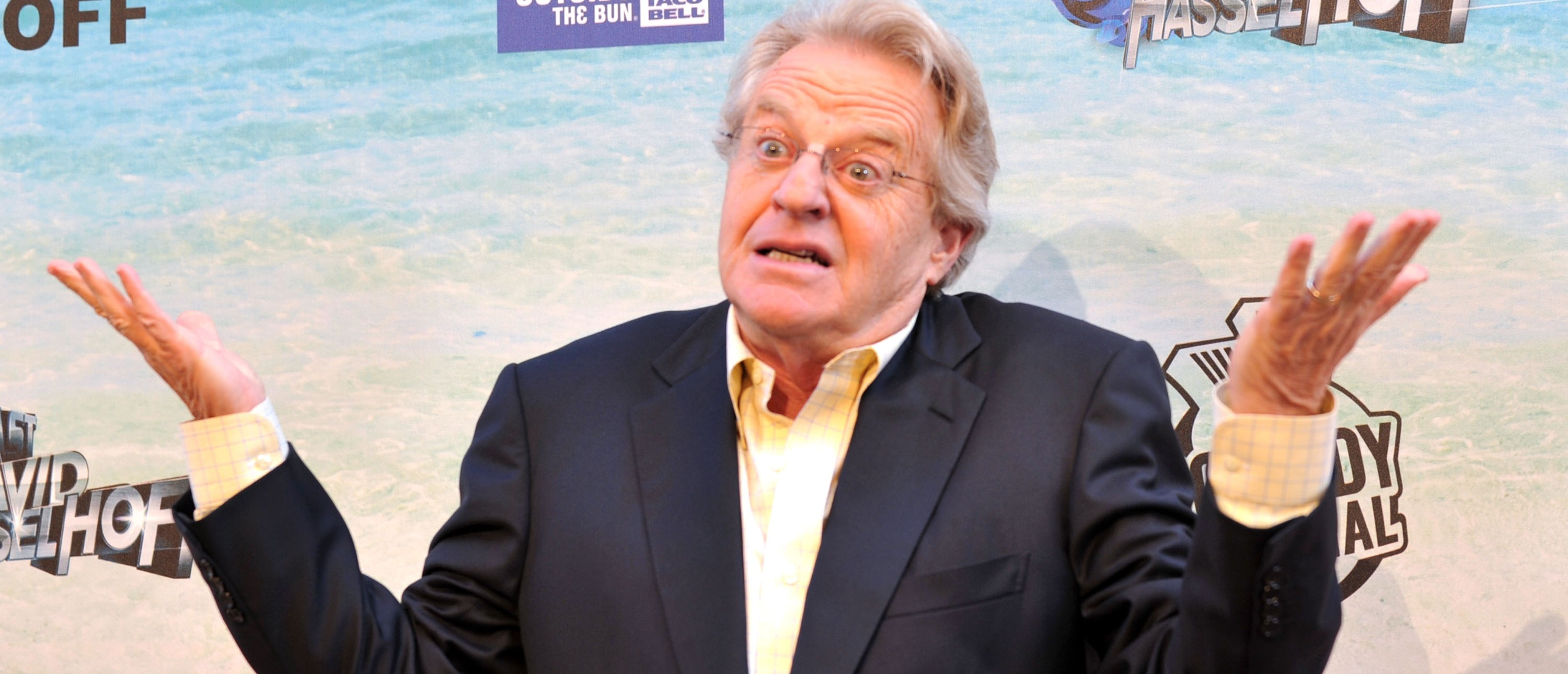 Jerry Springer says Donald Trump won't be president.