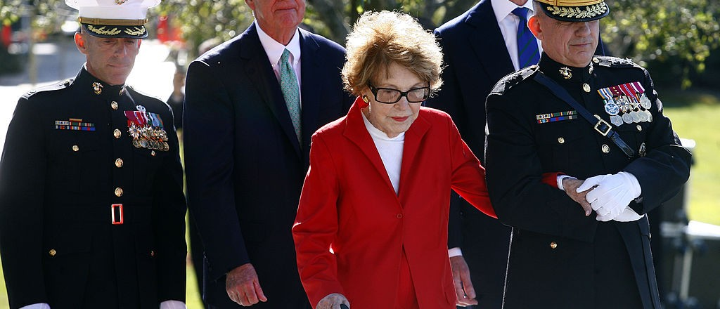 Nancy Reagan Dead At 94 (Getty Images)