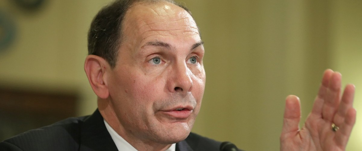 U.S. Veterans Affairs Secretary Robert McDonald testifies before the House Veterans