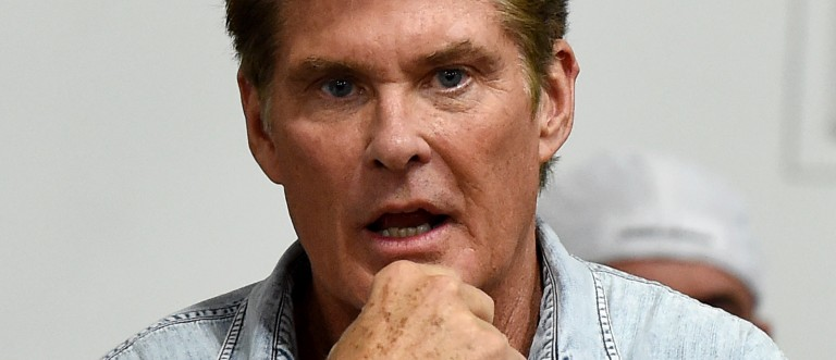 David Hasselhoff has never watched Pamela Anderson's sex tape