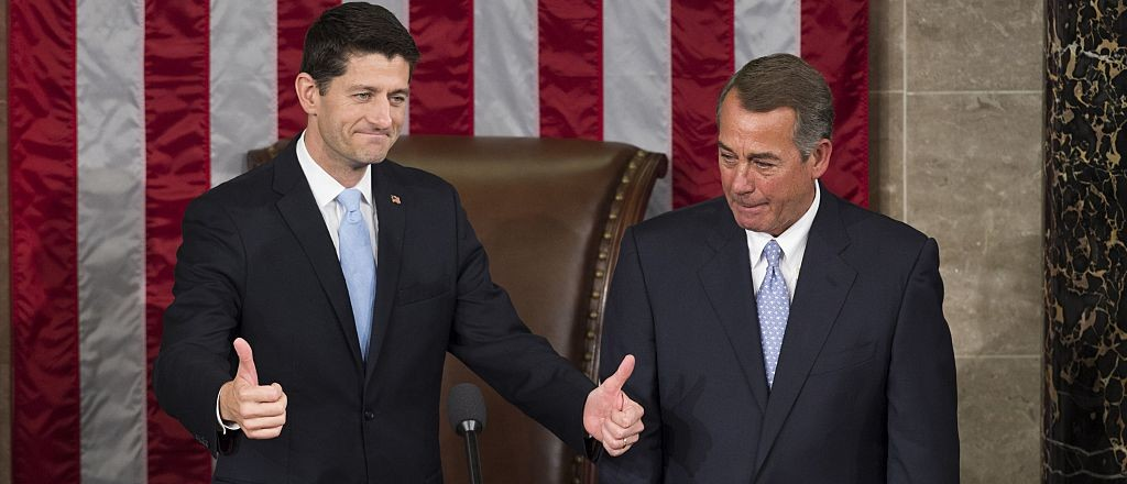 Boehner: 'I'm For Paul Ryan To Be Our Nominee' (Getty Images)