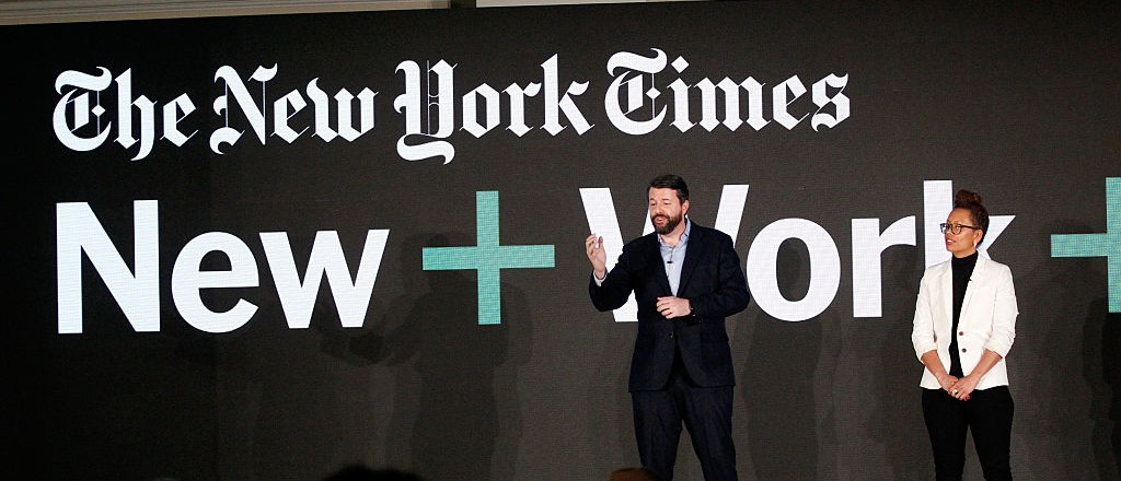 New York Times conference (Getty Images)