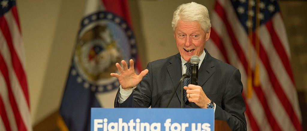 Bill Clinton Says He Might Vote For Bernie (Getty Images)