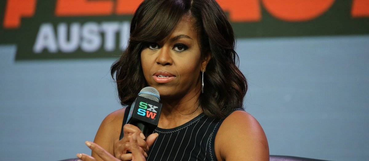 Michelle Obama (Photo: Neilson Barnard/Getty Images for SXSW)