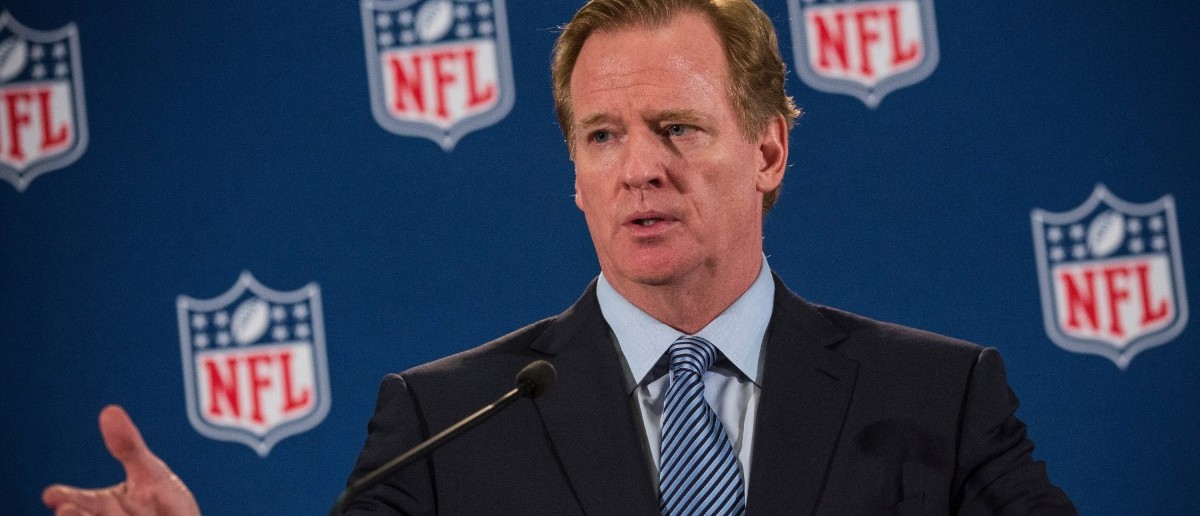 NFL Commissioner Roger Goodell Holds News Conference After Meeting With Team Owners (Getty Images/Andrew Burton)