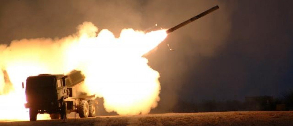 HIMARS system launches a rocket. Source: Kari Hawkins, USAG Redstone, U.S. Army
