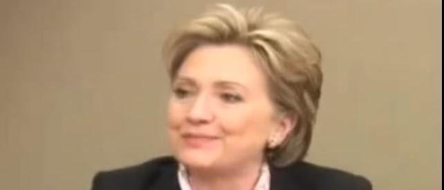 Hillary Clinton, Screen Shot YouTube, 3-28-2016