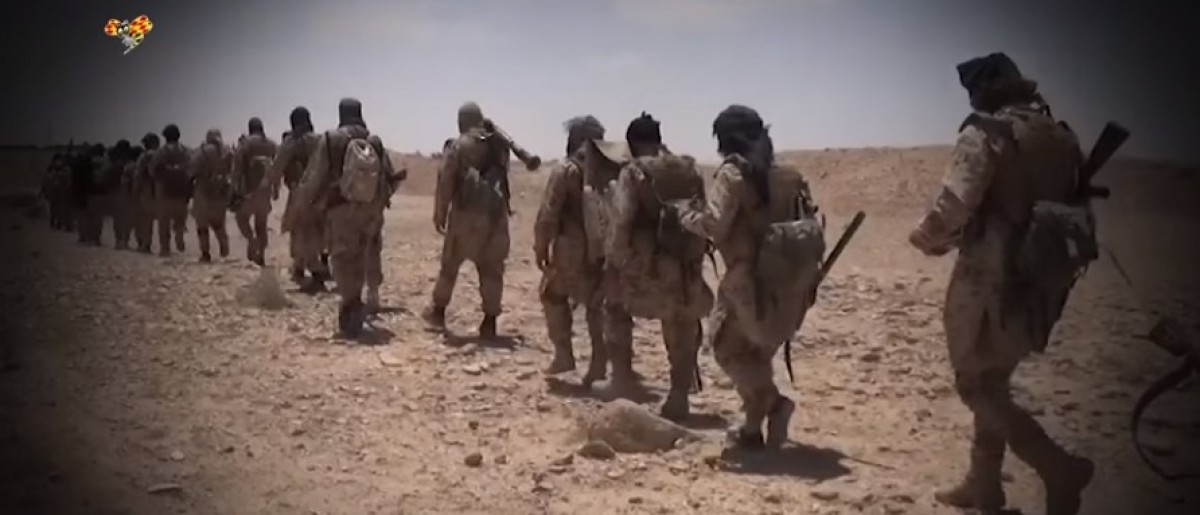 ISIS fighters flee the battlefield using civilian ID cards. (screengrab/ Youtube)