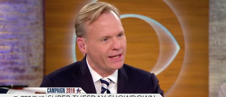 John Dickerson, Screen Shot 'CBS This Morning' 3-1-2016