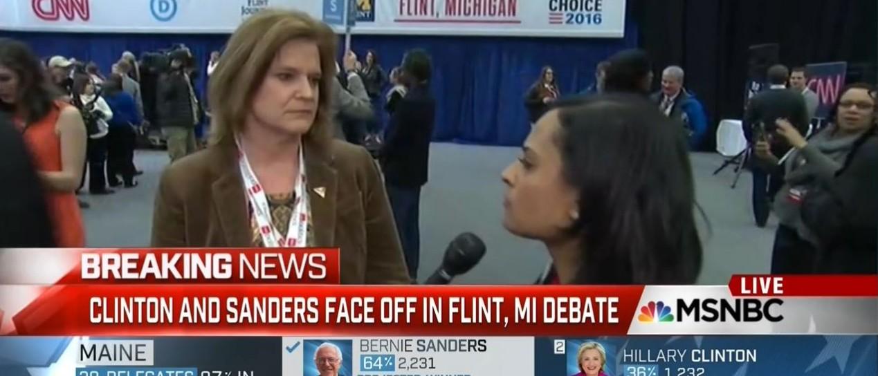 Kristen Welker, Jen Palmieri Screen Shot MSNBC 3-6-2016