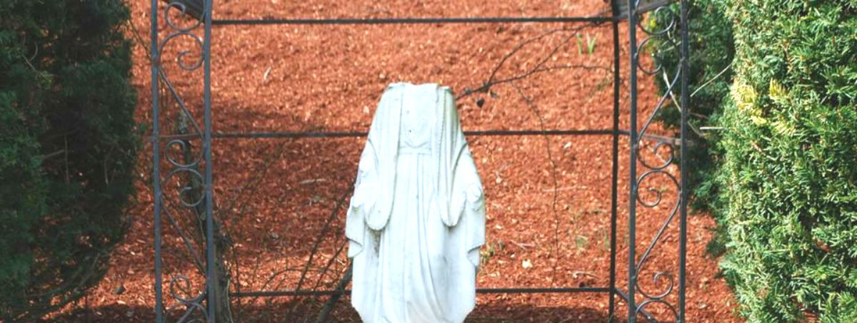 Beheaded Virgin Mary Statue, Burlington Police Department