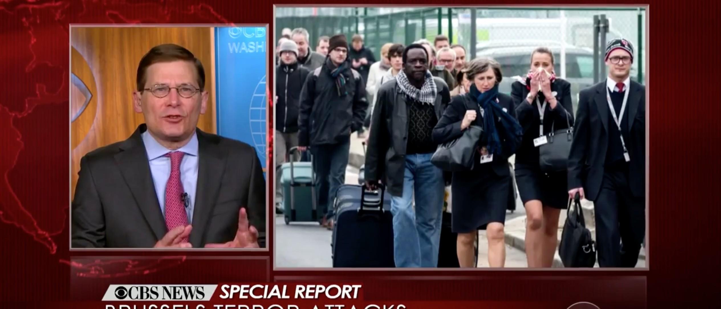 Michael Morell, Screen Shot CBS News, 3-22-2016