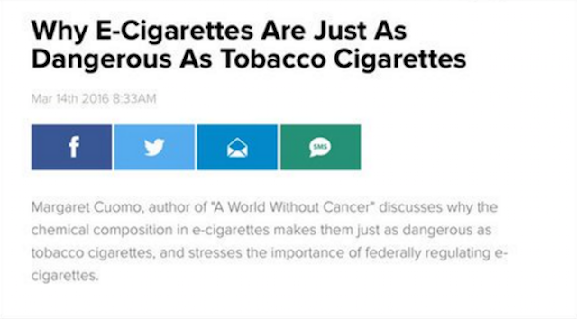 Screenshot Huffington Post