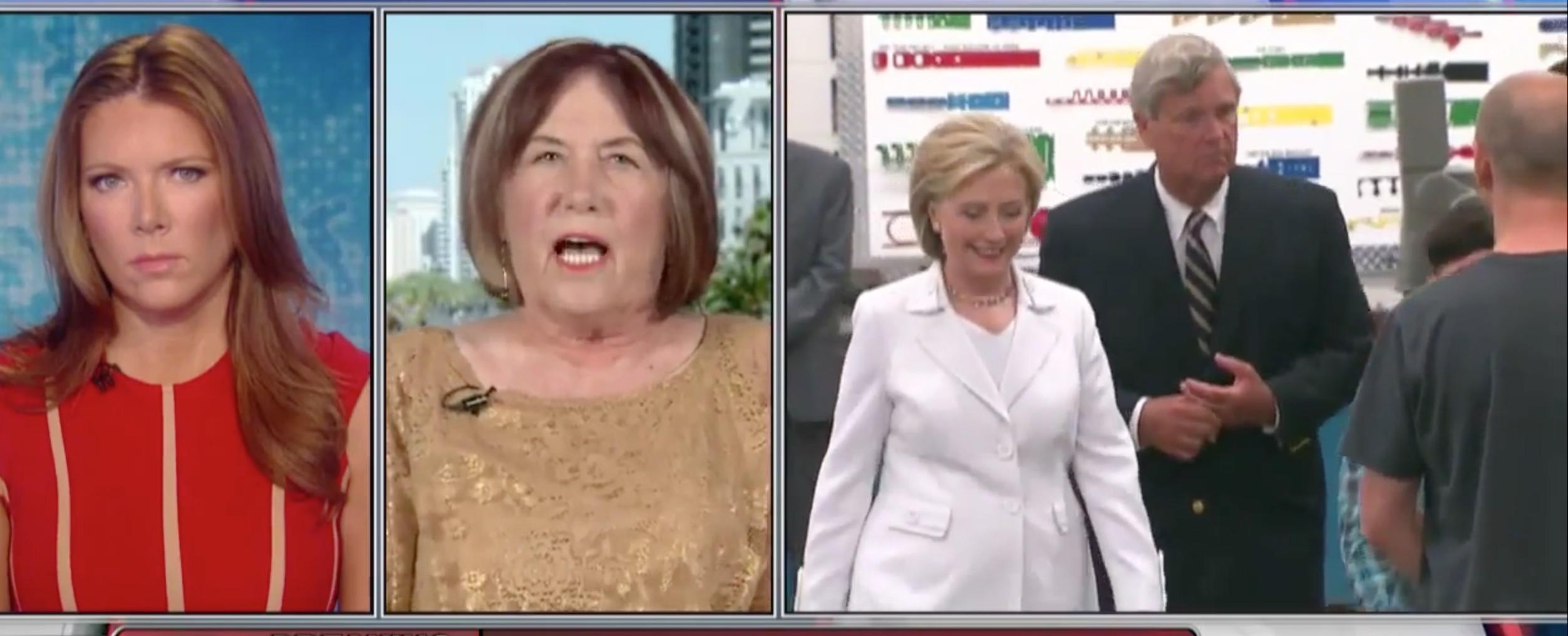 Patricia Smith, Hillary Clinton, Screen Shot FBN, 3-10-2016