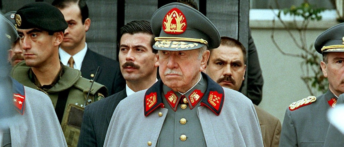 Former Chilean leader and current Commander of the Chilean Armed Forces Augusto Pinochet