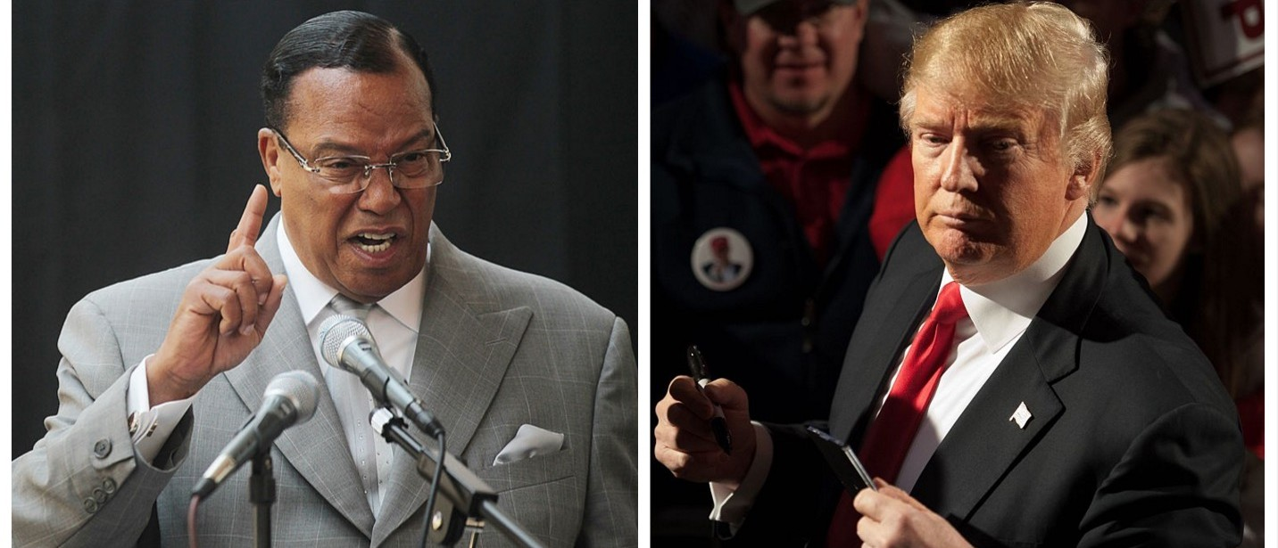 Nation Of Islam Leader PRAISES Donald J. Trump (Getty Images)