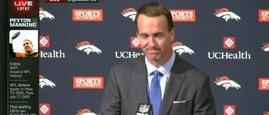 WATCH: Peyton Manning Retires After 18 Year Career (ESPN)