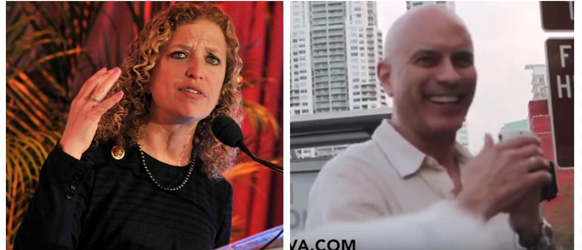 Oh Schultz! DNC Chair's Primary Challenger Gets Major Endorsements (Getty Images/YouTube)