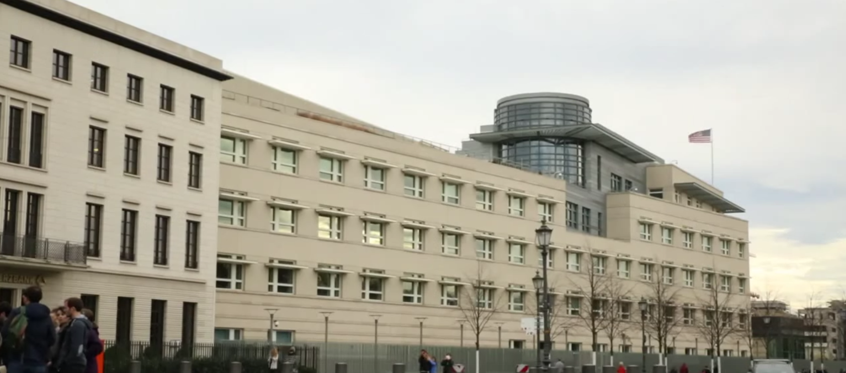 U.S. Embassy In Berlin (Screen capture- Tech crunch You Tube video)