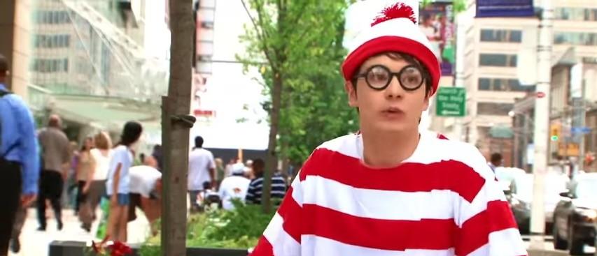 BREAKING: They Found Waldo (Matt Phillips, YouTube, https://www.youtube.com/watch?v=oCE5-wTdEYE)