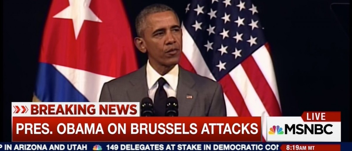 Obama Responds To Brussels Terror Attacks ... 'Whatever' (MSNBC)