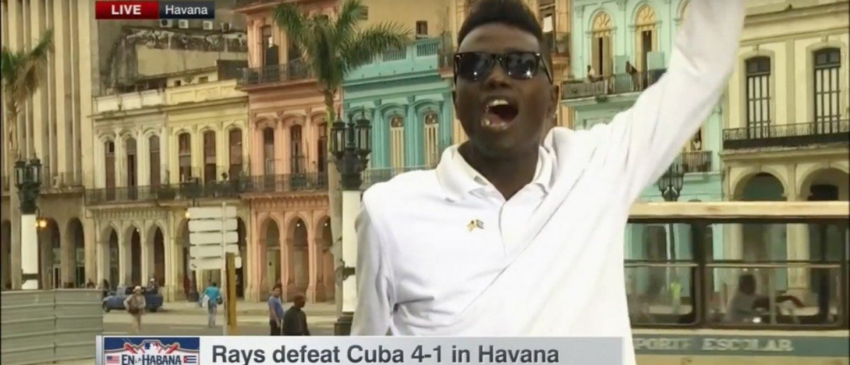 Cuban protestor (Credit: Screenshot/Youtube CorkGaines)