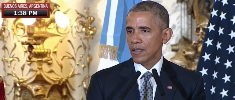 Obama Downplays Attacks: ISIS Is 'Not An Existential Threat To Us' (MSNBC)