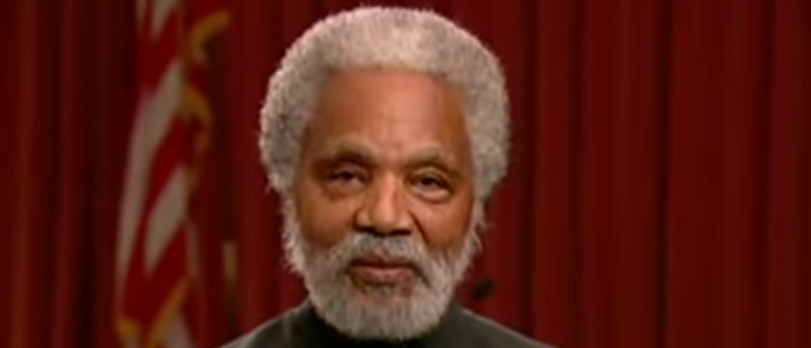 Nebraska state senator Ernie Chambers, Youtube screen grab.