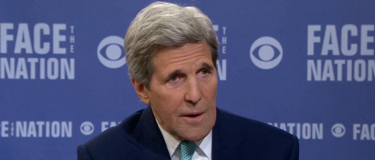 Kerry Won't Call Russia An Ally In Syria But Admits They're Helping U.S. Interests (Screen shot CBS)