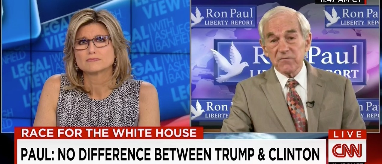 Ron Paul: 'I Wouldn't Vote For Donald Trump' (CNN)