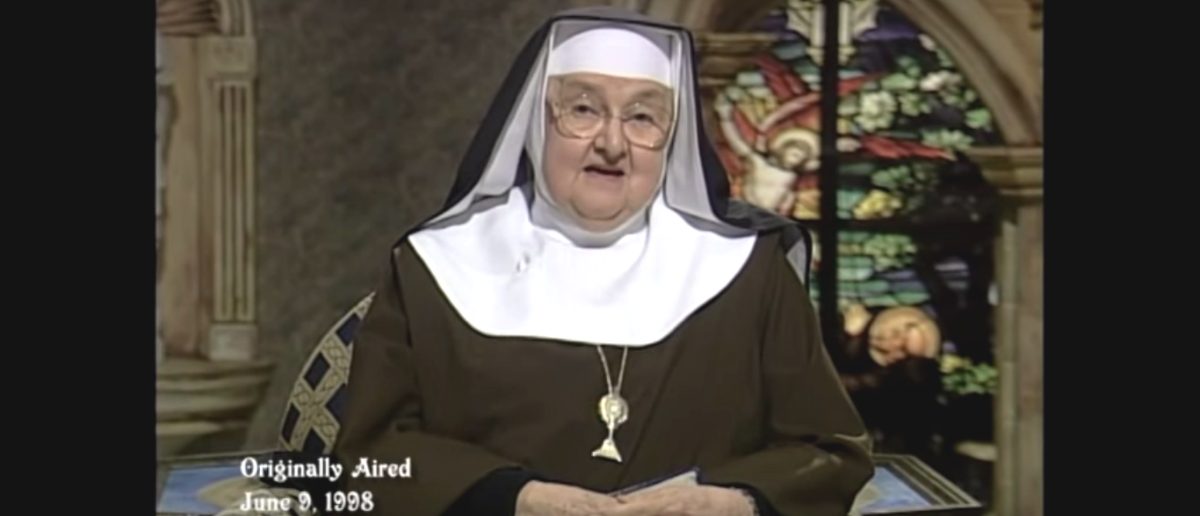 Mother Mary Angelica, Screenshot, YouTube, EWTN News