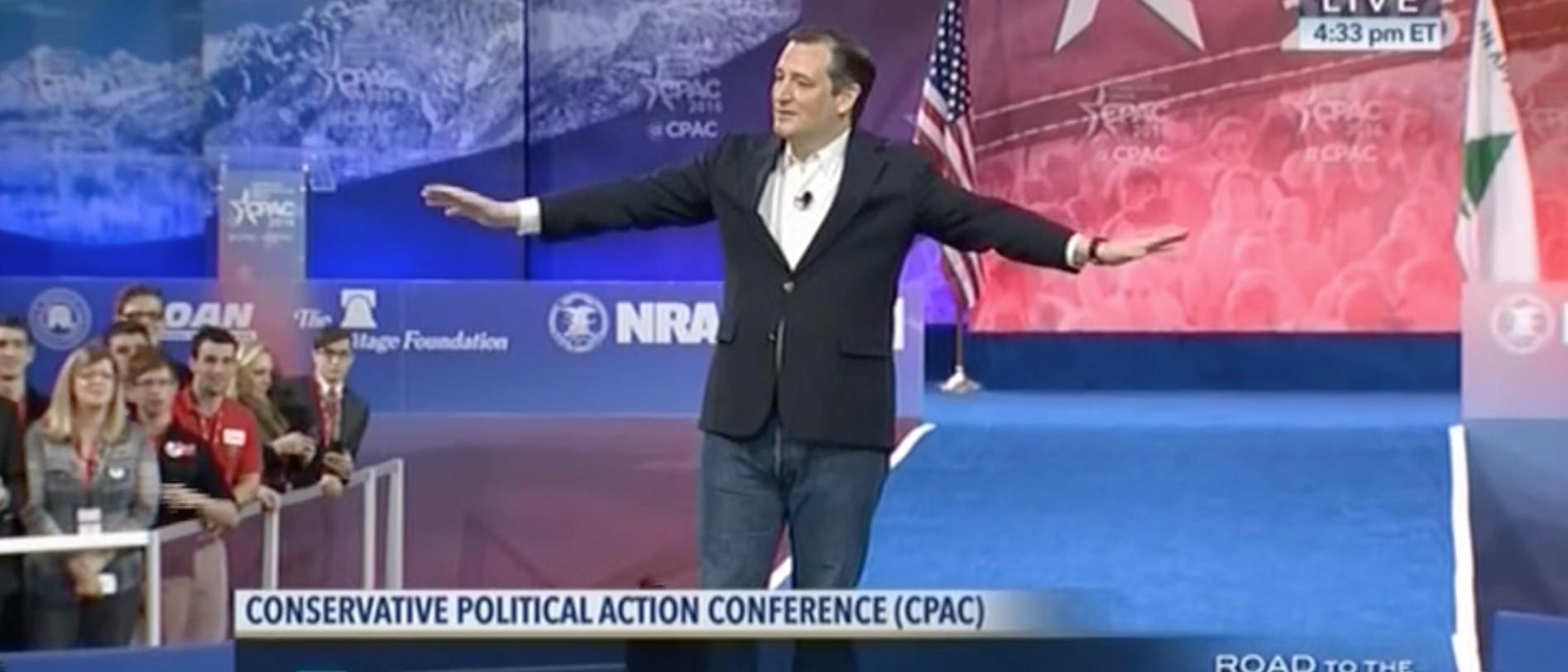 Ted Cruz, Screen shot CSPAN, 3-4-2016