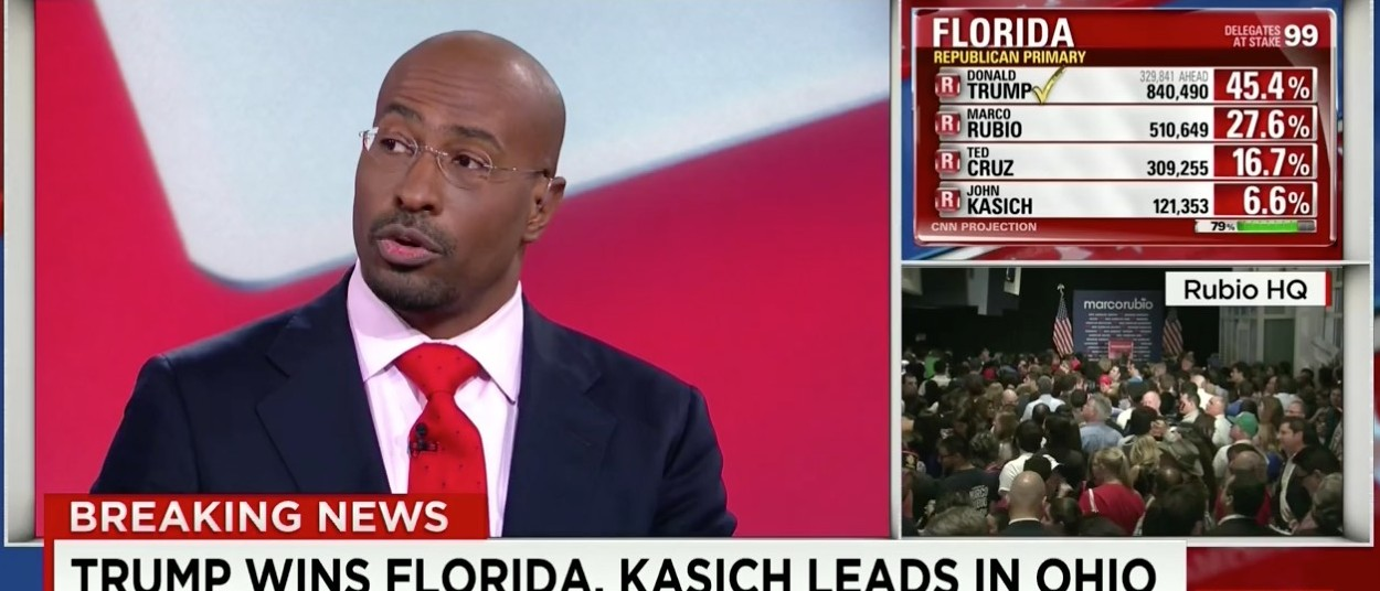Van Jones, Screen Shot CNN, 3-15-2016