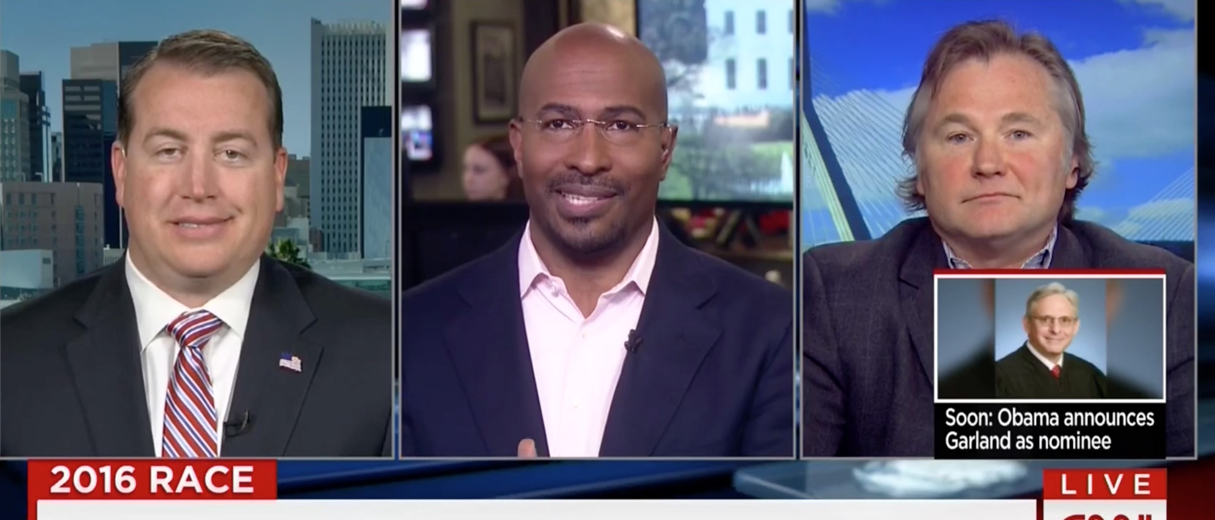 Van Jones, Screen Shot CNN, 3-16-2016