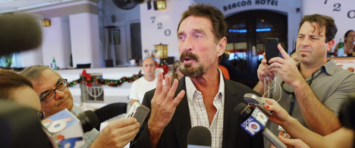 John McAfee's Message To The IRS, And Why He Plans To Reveal Satoshi Nakamoto