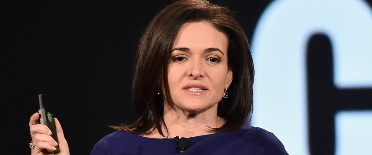 Sheryl Sandberg, COO of Facebook speaks at the AOL 2016 MAKERS conference at Terranea Resort on February 2, 2016 in Rancho Palos Verdes, California. Alberto E. Rodriguez/Getty Images.