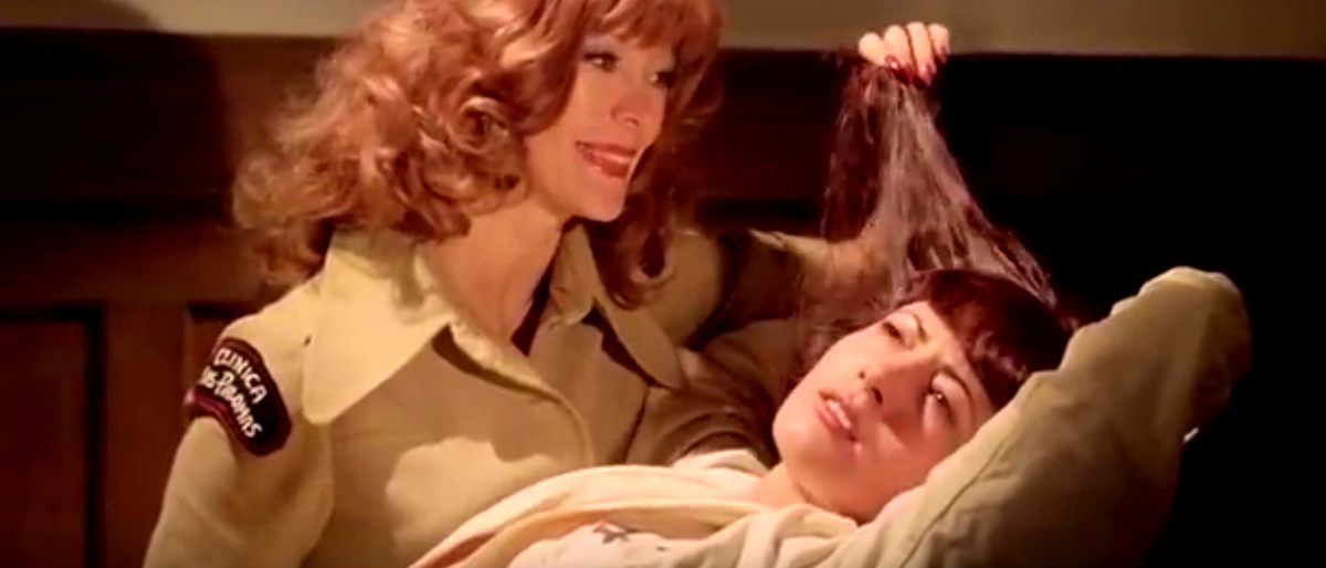 women in prison from 'Wanda the Wicked Warden' YouTube screenshot/70's 80's Trailers