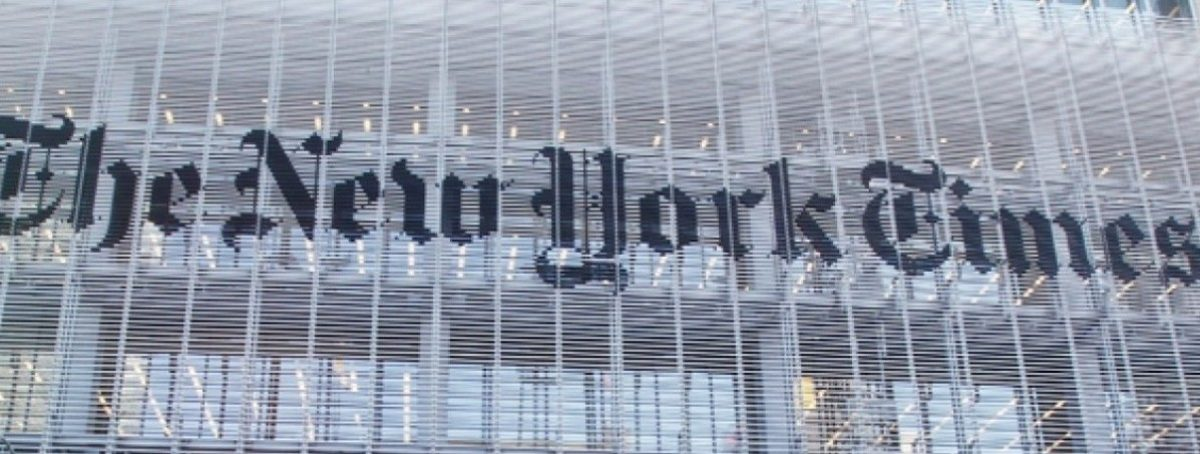New York Times Building. REUTERS.