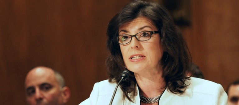 Project on Government Oversight Executive Director Danielle Brian testifies before Congress. POGO won a national journalism award for reporting on FDA potential conflicts of interest and low standards.