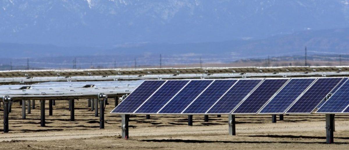 The Comanche Solar facility is shown in Pueblo, Colorado April 6, 2016. REUTERS/Rick Wilking
