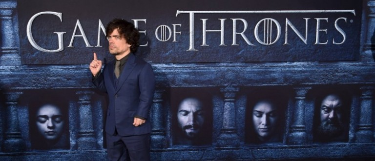 """Cast member Peter Dinklage attends the premiere for the sixth season of HBO's """"Game of Thrones"""" in Los Angeles April 10, 2016. REUTERS/Phil McCarten"""