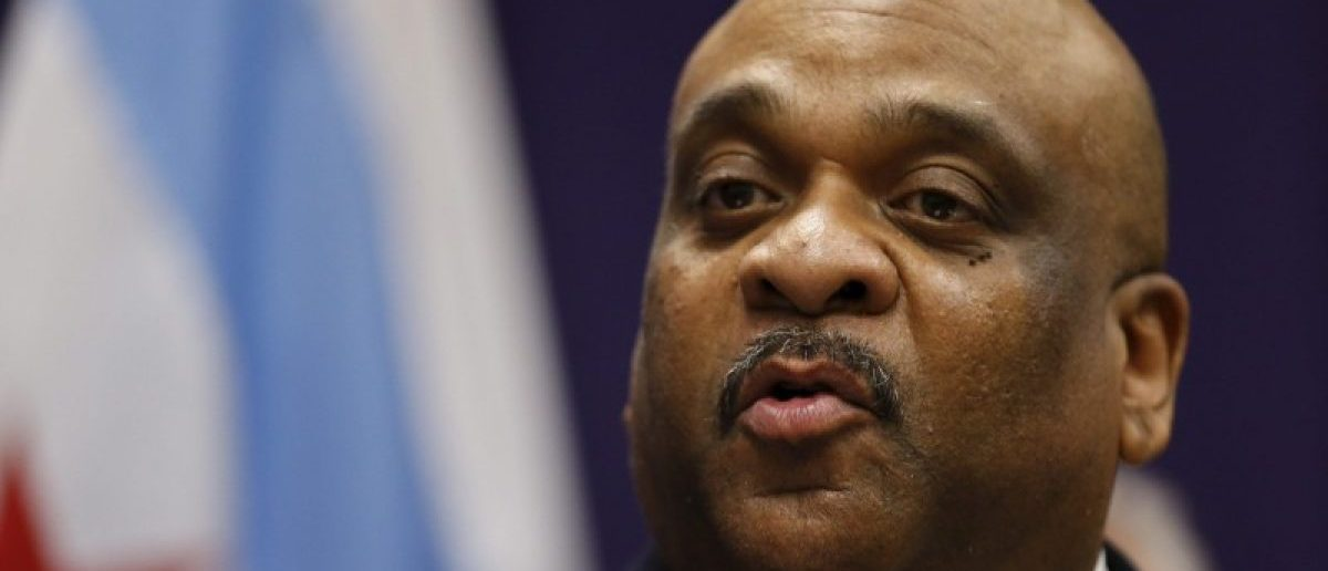 The Interim Superintendent of the Chicago Police Department Eddie Johnson, speaks during a news conference in Chicago, in this March 28, 2016 file photo. REUTERS/Kamil Krzaczynski