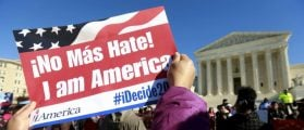 Supreme Court Hears Challenge To Deportation Power