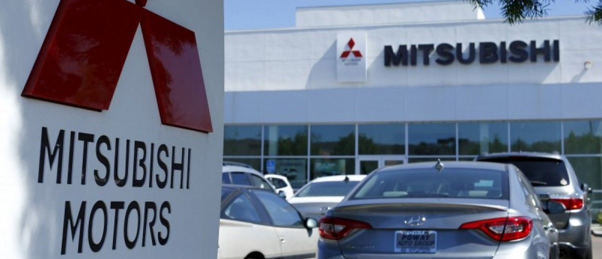 A Mitsubishi Motors dealership is shown in Poway, California July 27, 2015.