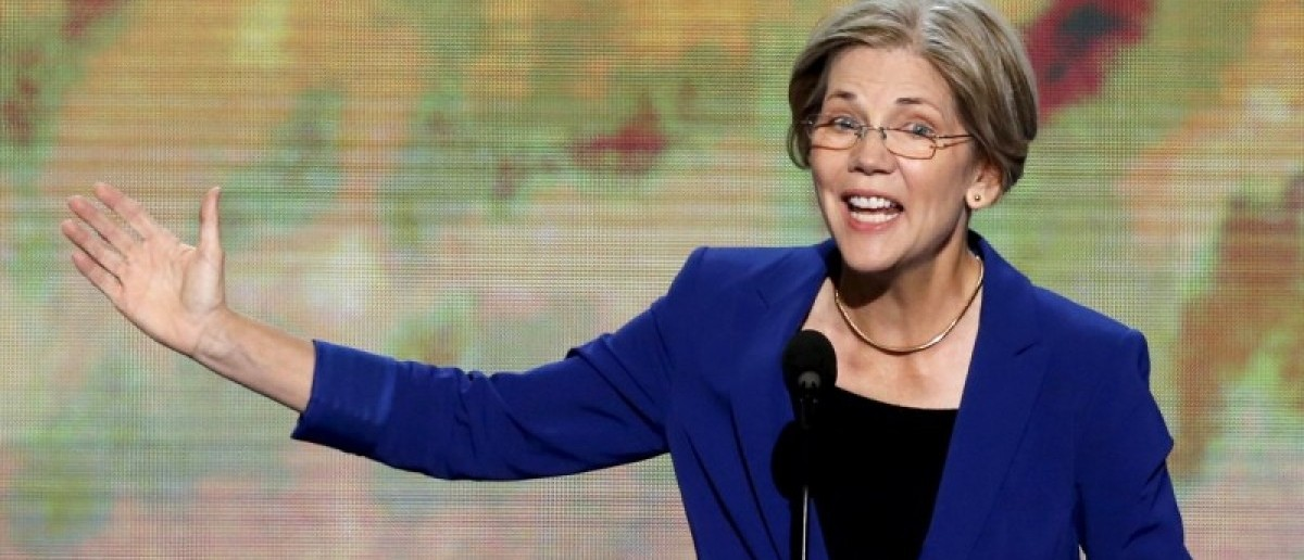 Elizabeth Warren, candidate for the U.S. Senate in Massachusetts, addresses the second session of the Democratic National Convention in Charlotte, North Carolina, U.S. September 5, 2012. REUTERS/Jason Reed/File Photo